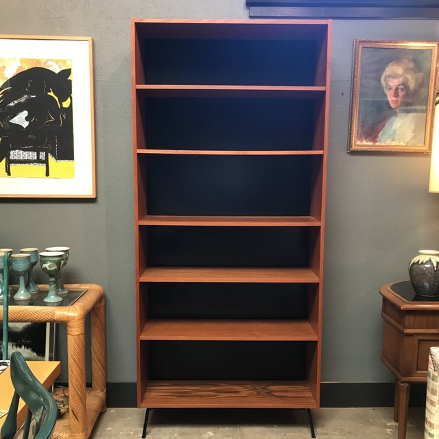 Danish Mid-Century Teak Bookcase - Image 3 of 8