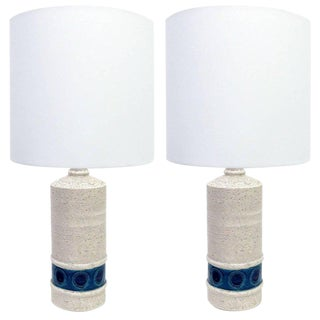 Bitossi Table Lamps for Bergboms - A Pair