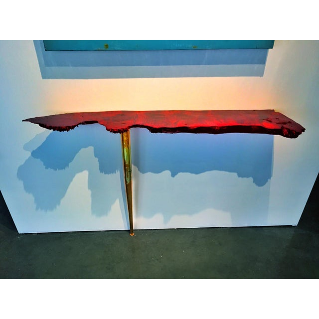 Live Edge Burl Side Table - Image 4 of 4