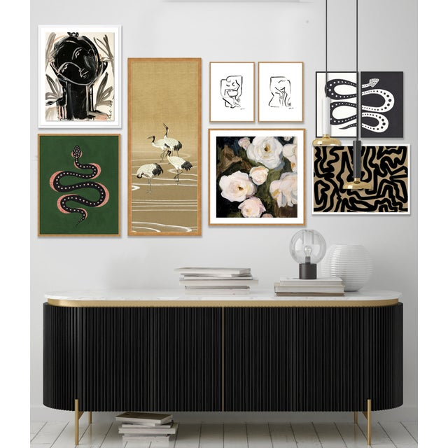 Contemporary Gallery Wall #1, Set of 9, by Anthony Rodriguez of 136Home For Sale - Image 3 of 12