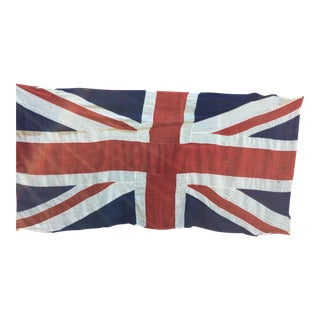 "Vintage ""Union Jack"" British Flag - Ship Flag"