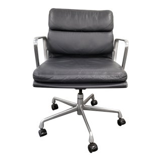 1990s Vintage Eames Soft Pad Management Chair For Sale