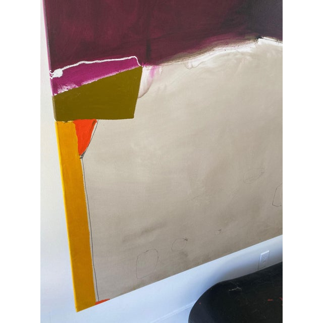 Abstract Monumental Contemporary Abstract Painting XII by William McLure For Sale - Image 3 of 8