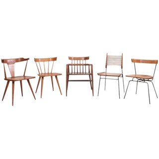 Set of Five Different Paul McCobb Planner Group Chairs for Winchendon For Sale