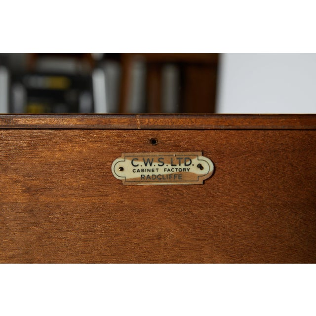 Midcentury English Oak Sideboard For Sale In Atlanta - Image 6 of 13