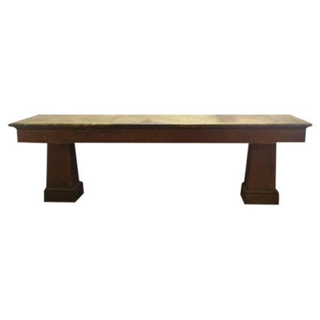 1900s American Department Store Display Table - Image 1 of 3