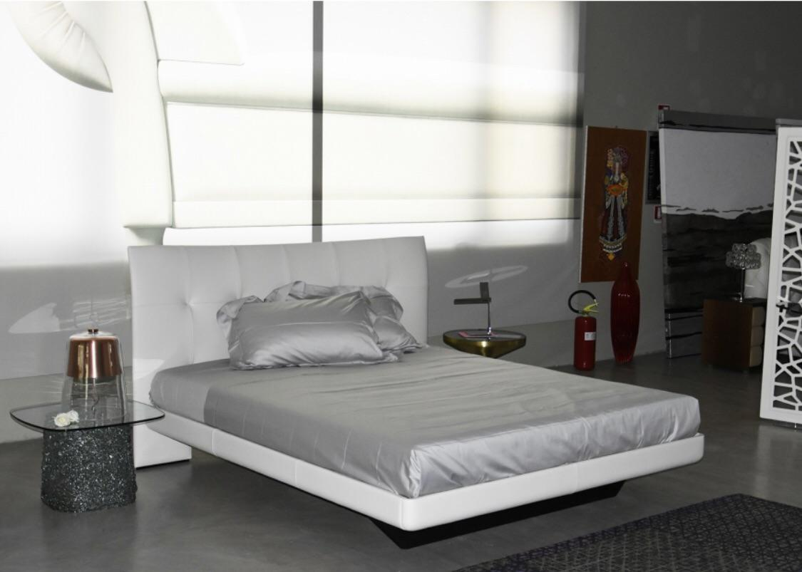 Poltrona Frau Aurora Due Cream Leather Bed Chairish