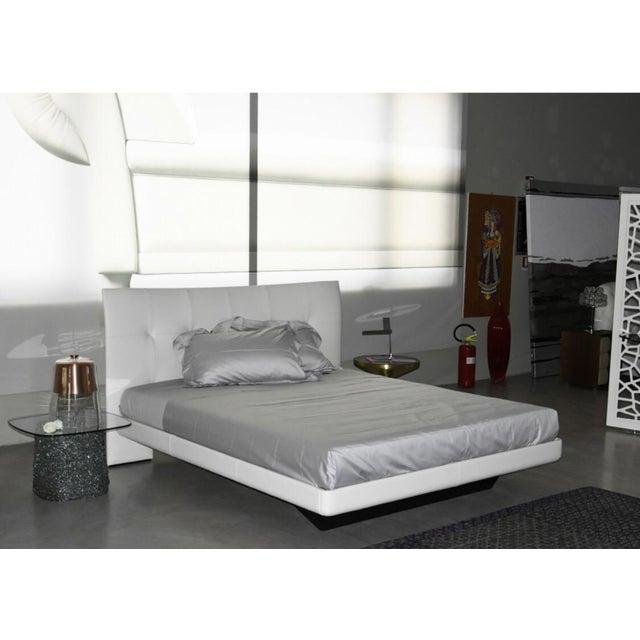Poltrona Frau Aurora Due Cream Leather Bed Chairish