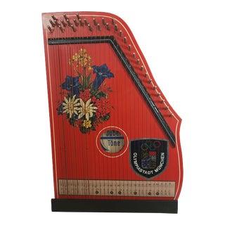 Vintage Jubel Tone Children's Zither For Sale
