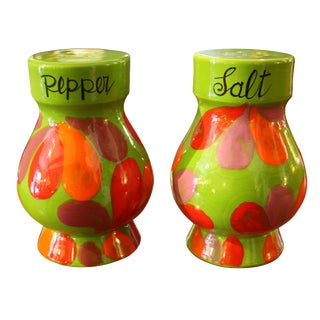 Mid-Century Italian Salt & Pepper Shakers - A Pair For Sale