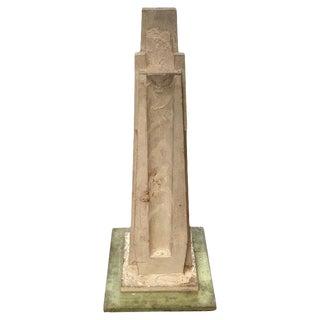 Vintage Statuary Obelisk, Italy 1940s For Sale