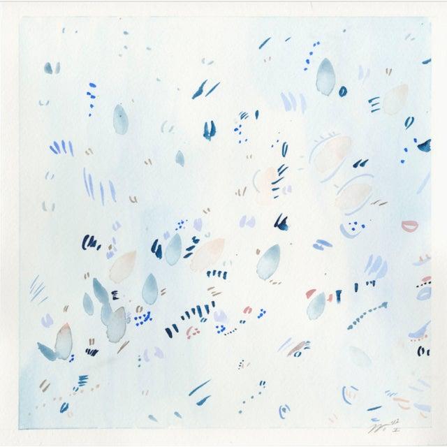 "Float I Watercolor Print - 20"" x 20"" - Image 2 of 3"
