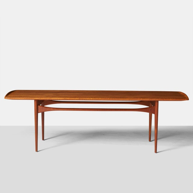 Mid-Century Modern A Tove & Edvard Kindt-Larsen Coffee table For Sale - Image 3 of 6