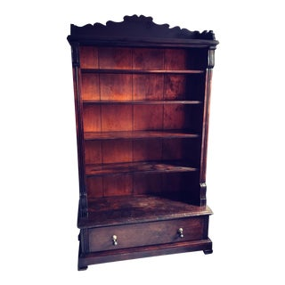 Turn of the Century Distressed Irish Cupboard For Sale