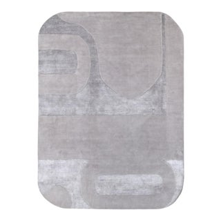 Mod 10' x 14' Rug - Gray For Sale