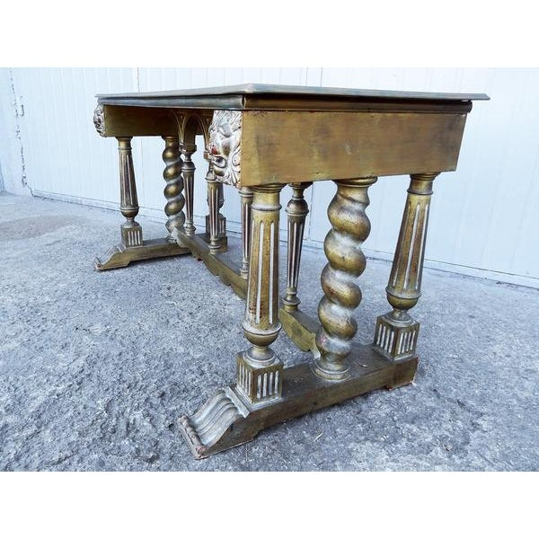 Shabby Chic Imperial Style Coffee Side Table - Image 6 of 8