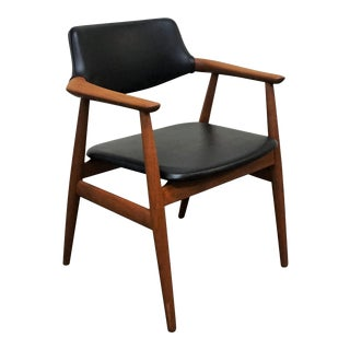 "Original Danish Teak Desk Chair - ""Store Okseø"" For Sale"