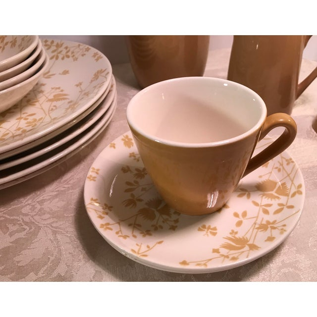 Ceramic Sheffield Golden Meadow Ironstone Set - 30 Pieces For Sale - Image 7 of 11