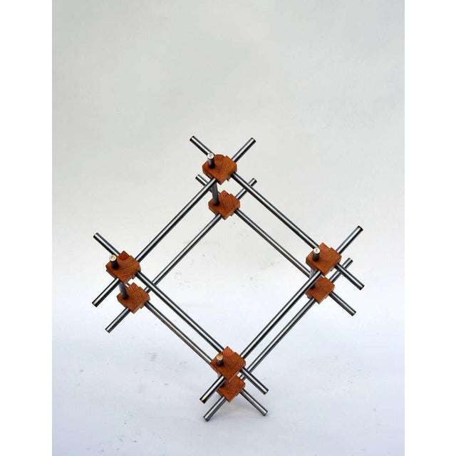 Geometric Abstract Sculpture by Alex Andre For Sale In Los Angeles - Image 6 of 7