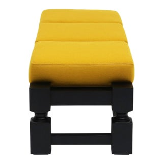 f.a.c. Bench in Yellow For Sale