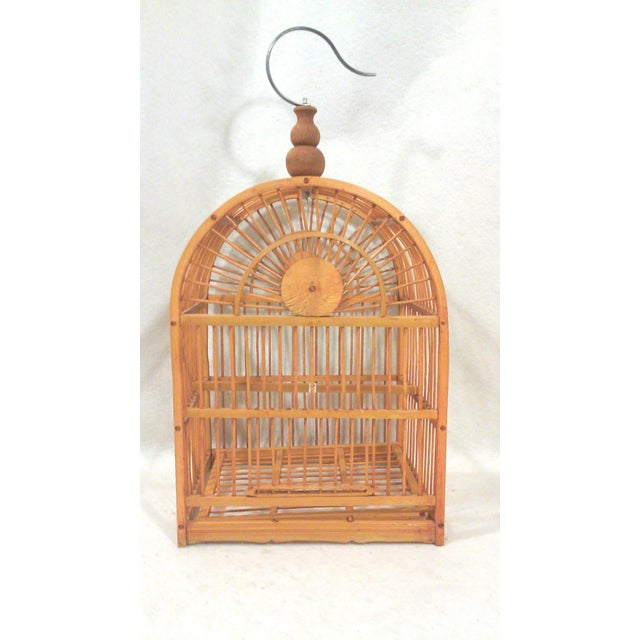 Hanging Decorative Bird Cage - Image 3 of 5