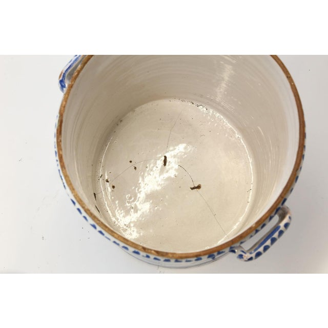 Nevers Faience 'Pot a Oranger' For Sale - Image 9 of 13