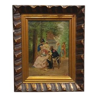 19th Century Officer & Gentleman - Flemish Painting
