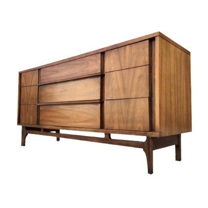 Mid-Century Walnut Dresser - Image 1 of 5