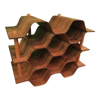 Rosewood Wine Rack by Torsten Johansson for Ab Formträ For Sale