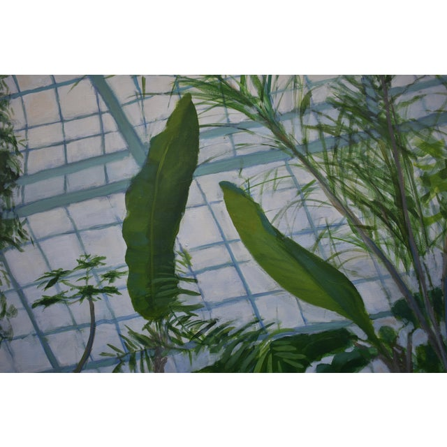 """""""Greenhouse in Winter"""" Contemporary Painting by Stephen Remick For Sale In Providence - Image 6 of 11"""