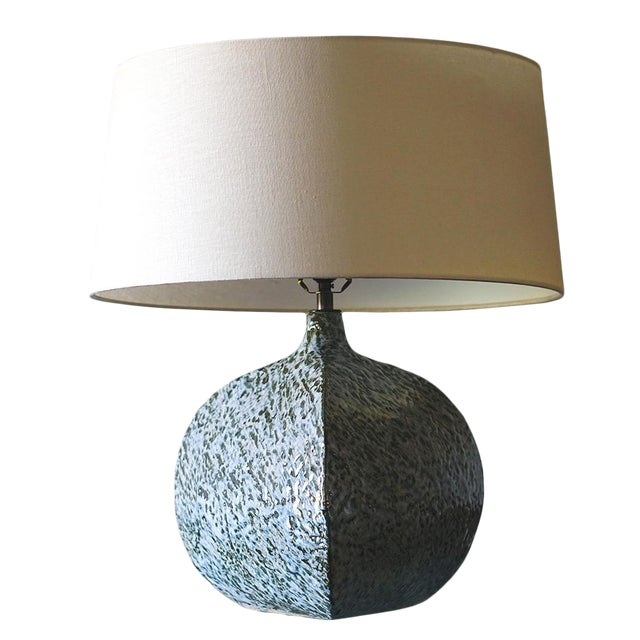 Belly Pot Table Lamp For Sale