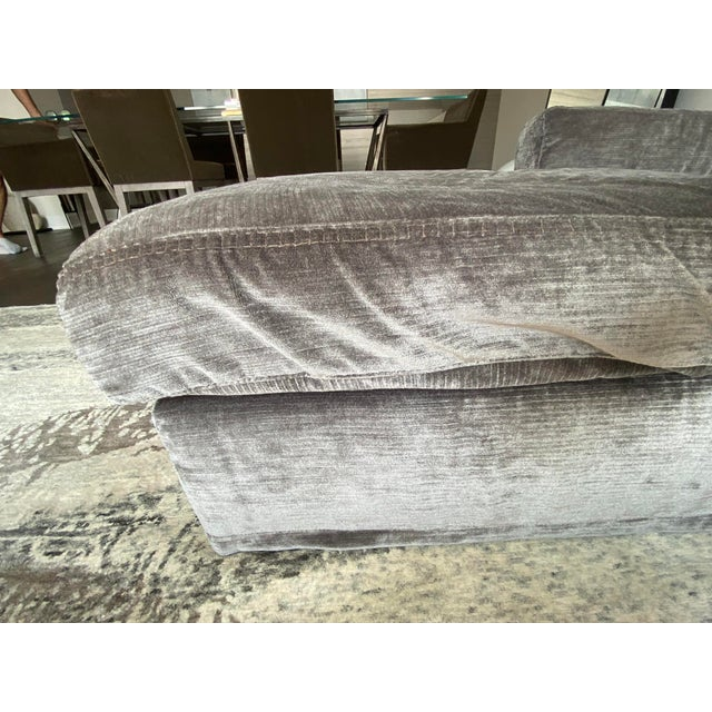 "2010s Italian Contemporary Upholstered Sofa Sectional ""LeClub"" by Massimiliano Mornati for Jesse Furniture For Sale - Image 5 of 13"