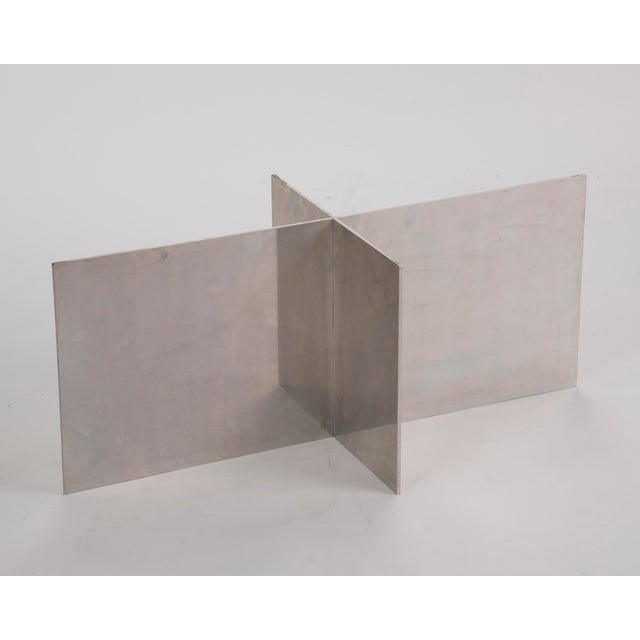 Paul Mayen Habitat Aluminum Coffee Table For Sale In Philadelphia - Image 6 of 12