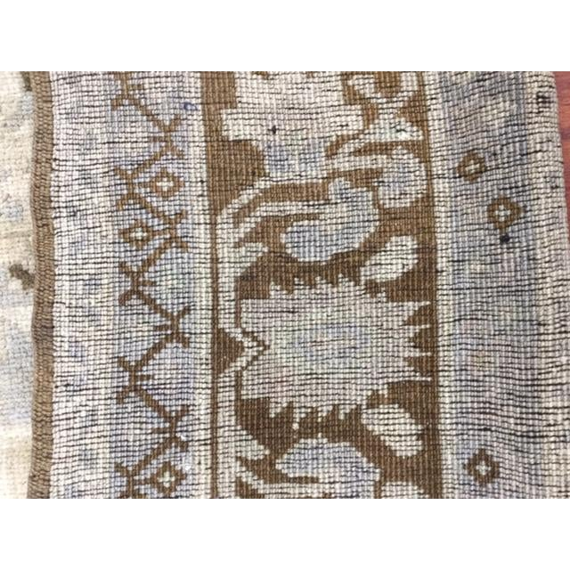 "Textile 1950's Turkish Kaspinar Rug-7'7""x12'9"" For Sale - Image 7 of 11"
