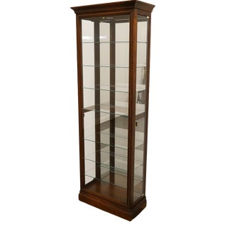 "Howard Miller 27"" Lighted Display Curio Cabinet For Sale"