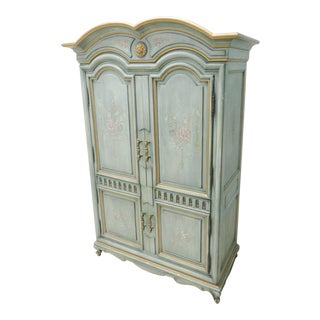 Kargas Italian Style Paint Decorated Linen Press