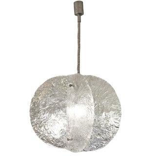 Mazzega Suspension Light For Sale