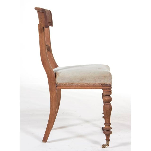 Late 19th Century Regency Chair For Sale - Image 4 of 4