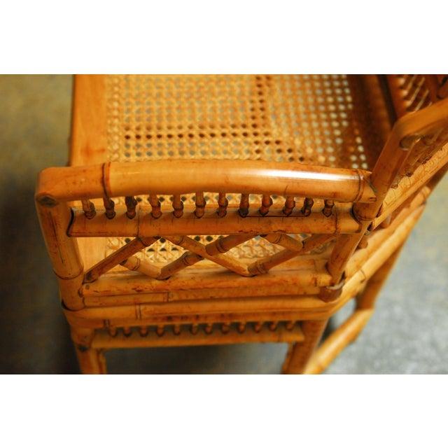 Bamboo Brighton Pavillion Style Armchair - Image 8 of 9