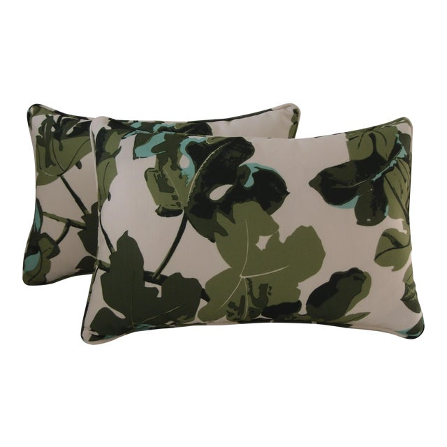 Peter Dunham Outdoor Textile Pillows - Pair - Image 1 of 5