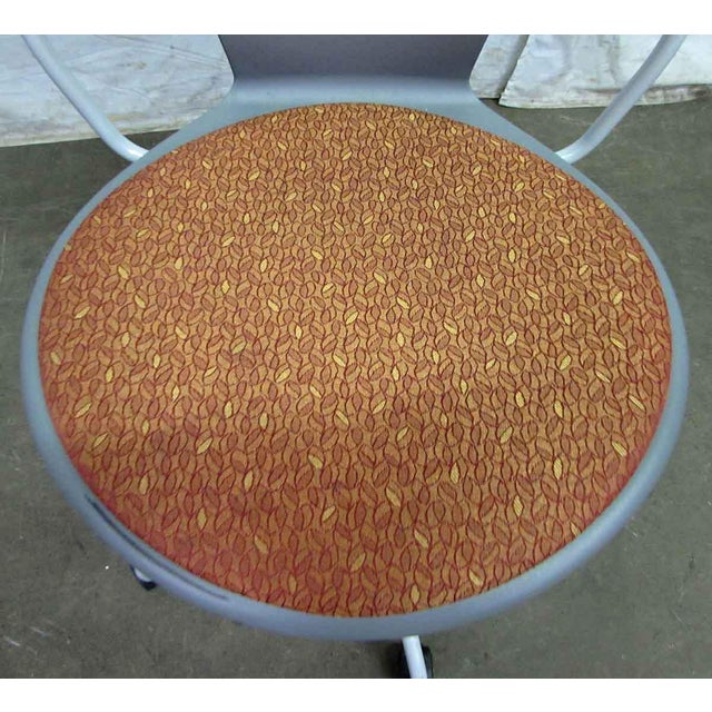 Modern Modern Rolling Office Chair For Sale - Image 3 of 9