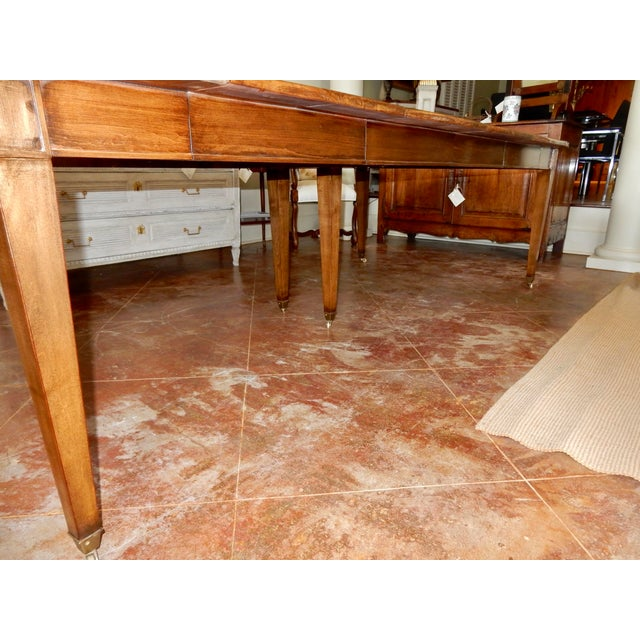 19th Century Louis XVI Directoire' Extension Dining Table For Sale - Image 5 of 9