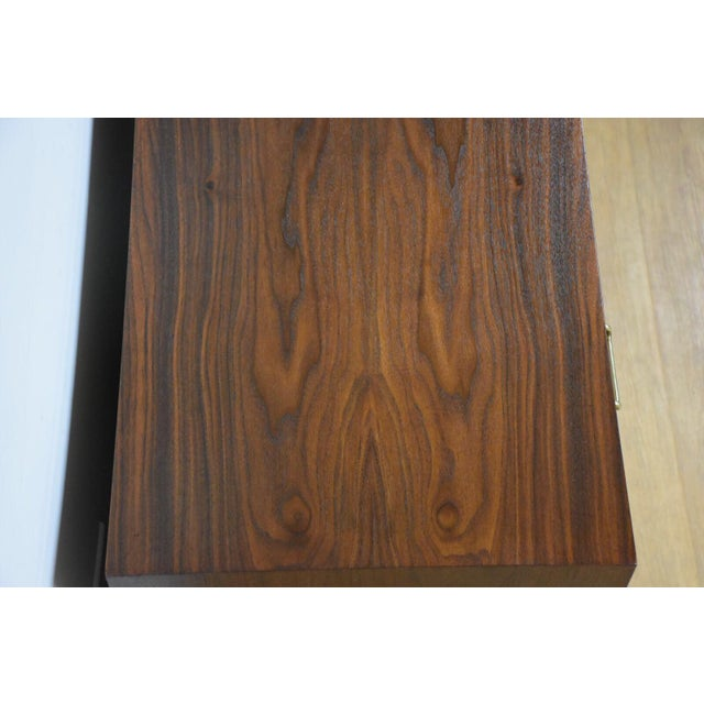 Wood American of Martinsville Walnut Bar For Sale - Image 7 of 9