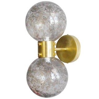 Bailarina Duo Globe Sconce For Sale
