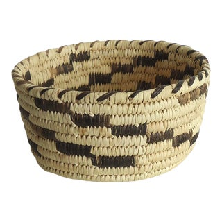 Vintage Papago Pima Basket