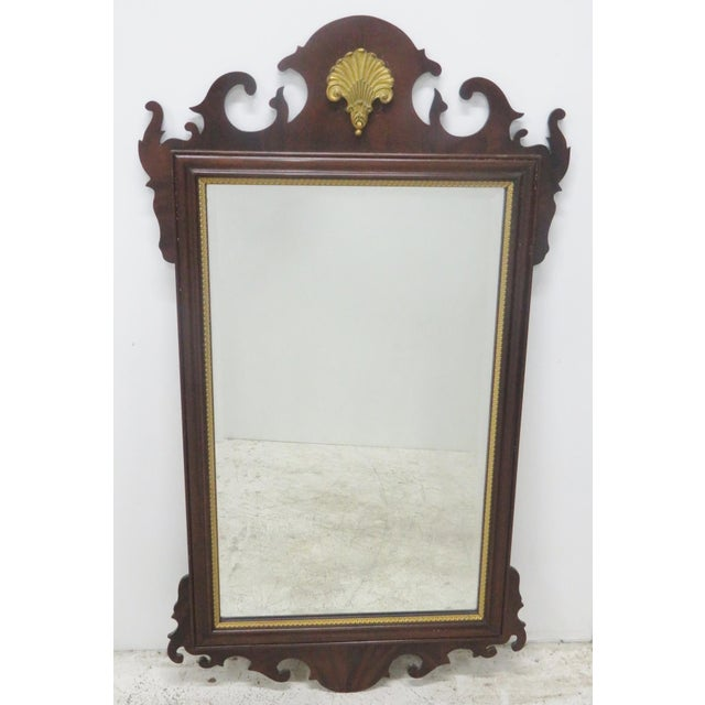 Council Furniture Chippendale Mahogany Mirror - Image 7 of 7