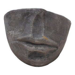 Fornasetti- Style Face Planter For Sale