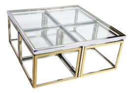 Image of Brass Tea Tables