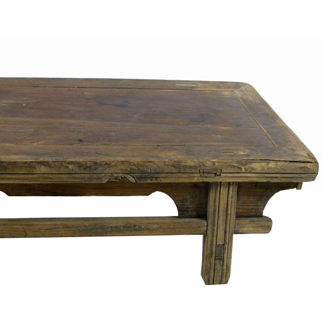 Asian Reclaimed Wood Shandong Accent Table For Sale - Image 3 of 4