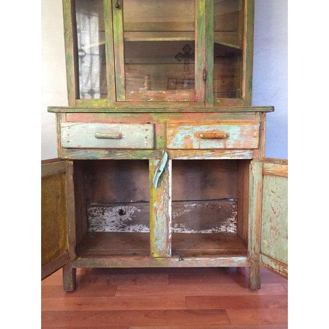 Vintage Farmhouse American Primitive Cupboard Kitchen Hutch Chairish